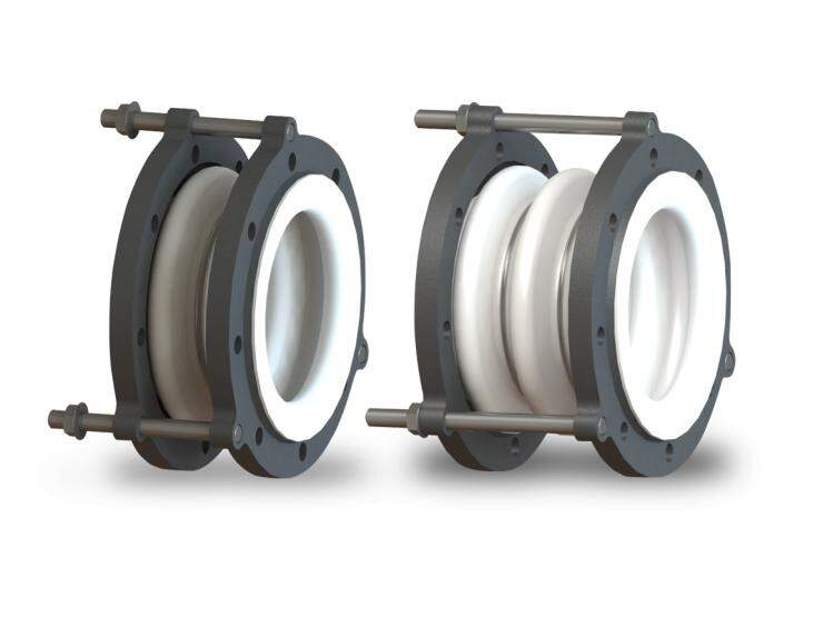 Garlock® SURE-LINK™ PTFE Spool-Type Connectors (Previously Style 214 / 215 PTFE Expansion Joints)