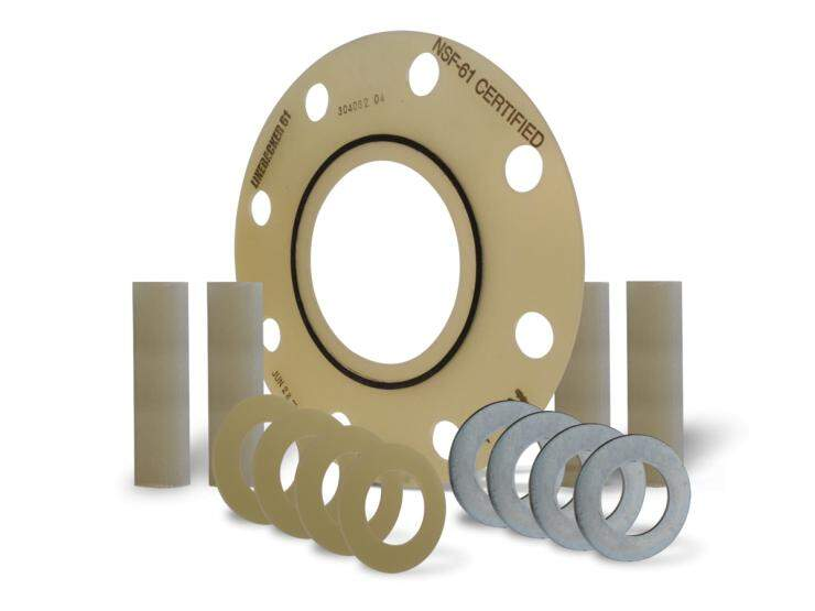 LineBacker® 61™ NSF Certified Flange Isolation Gasket Kit