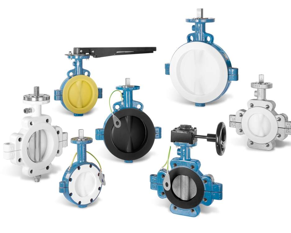 GAR-SEAL® Butterfly Valves